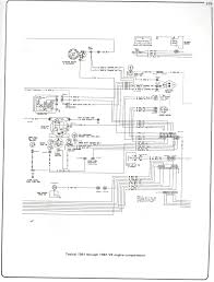 complete 73 87 wiring diagrams 60 Chevy Wiper Wiring Diagram 81 87 v8 engine compartment GM Wiper Motor Wiring Diagram