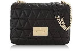 Michael Kors Sloan Extra Large Black Quilted Leather Shoulder Bag ... & Sloan Extra Large Black Quilted Leather Shoulder Bag - Michael Kors Adamdwight.com