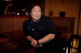 ming tsai is that man who satisfies your ap only to leave you with greater ap he is an american celebrity chef restaurateur and television