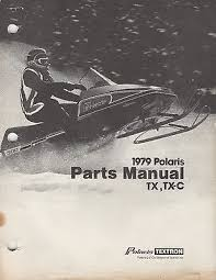 manuals 15 trainers4me 1979 polaris snowmobile tx tx c p n 9910565 parts manual 765