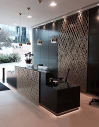 aberdeen asset management reception london laser cut screens weave design by miles and