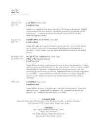 7 Legal Secretary Resume Mla Cover Page Assistant Sample Free
