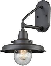 elk 57152 1 vinton station vintage oil rubbed bronze outdoor light sconce loading zoom