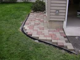 cost to install paver patio elegant how to install a paver patio pertaining to pavers for patio