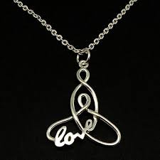 16 handmade silver mother child knot love pendant necklace