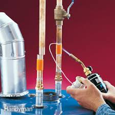 how to install a hot water heater the family handyman how to install a hot water heater