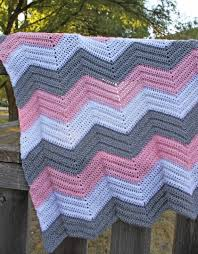 Chevron Crochet Blanket Pattern Mesmerizing Crochet Chevron Baby Afghan Made To Order Custom Baby Crochet