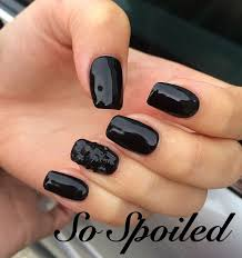 nail designs for fall 2014. bio sculpture gel nail art \u0026 design, fall 2014 solid black high gloss nails with designs for