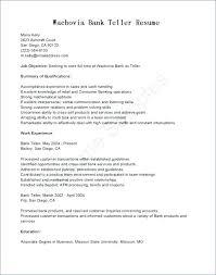 Teller Supervisor Resume Sample Teller Resume Banking Qualified Bank