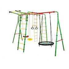 Купить <b>металлический</b> уличный детский комплекс <b>kampfer</b> wunder