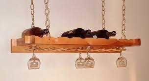 image of build overhead wine glass rack