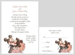 mickey mouse wedding invitations awesome 100 personalized custom disney mickey and minnie wedding bridal of mickey