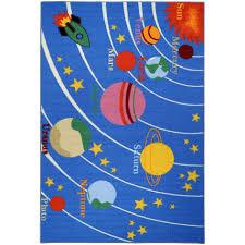 planet rug fresh rugnur bambino kids fun time educational galaxy planets elegant planet