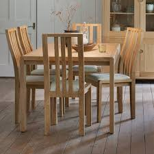ercol bosco small ext table 6 dining chairs