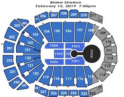 Sprint Center Seating Chart Blake Shelton Blake Shelton Sprint Center