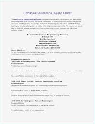 Mechanical Project Engineer Resume Sample