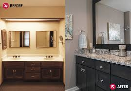 Bathroom Remodel Indianapolis Fascinating Before And After Master Bathroom Remodel An Indiana Master Bathroom