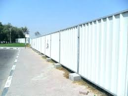 sheet metal fence sheet metal fence privacy fence out of corrugated metal how to build a