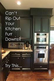 Black Kitchen Cabinets 17 Best Ideas About Kitchen Soffit On Pinterest Soffit Ideas