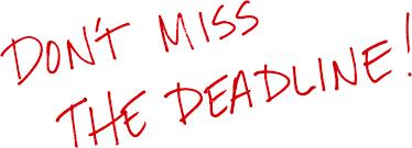 Image result for deadline pictures