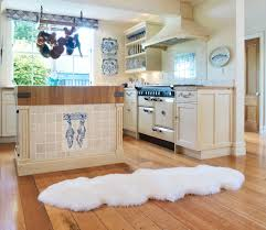 sheepskin rug douple pelt ivory