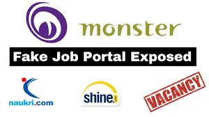 Shine Job Posting Fake Job Portals Exposed 2019 Indeed Shine Com Monster Naukri How To Identify Fake Job Offers