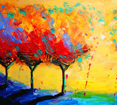 abstract paint trees tap to see more amazing abstract painting wallpapers mobile9