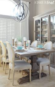 Modern Rustic Dining Table Update With Urban Home - Dining room tables rustic style