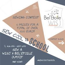 Elvelyckan Design Us Sew Cool To School Sewing Contest