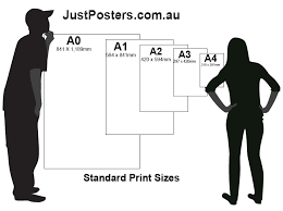 standard size posters print sizes just posters
