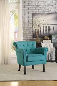 homelegance barlowe accent chair dark teal