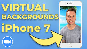 How To Use Zoom Virtual Background On iPhone 7 - YouTube