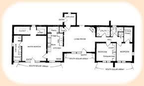passive house plans. Solar Floorplan 1870 Passive House Plans