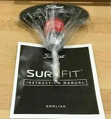 Titleist Surefit Chart Titleist Golf 917 915 913 910 Wrench Driver Fairway Hybrid