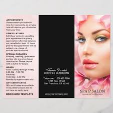 Spa Menu Of Services Template Salon And Spa Menu Of Services Template Zazzle Com