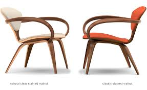 Creativity Molded Plywood Chairs Cherner Modern Red Overview I With Models Design