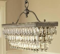 wood rectangle chandelier rectangular glass drop images clear fringe im