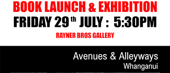Book Launch - Avenues & Alleyways Whanganui by Antonia Sims - Whanganui -  Eventfinda