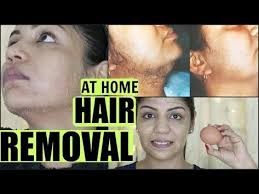 natural hair removal for women without shaving waxing or creams directions to remove face hair instantly with honey turmeric etc