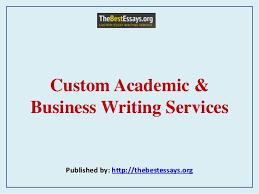 Write my business essay