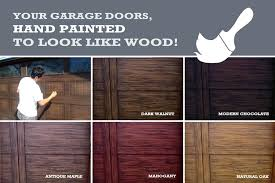 faux wood garage doors. Wood Stained Garage Doors Exterior Faux Door Cost Stylish On  Intended Y