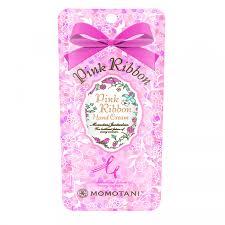 Momotani <b>Pink</b> Ribbon Hand Cream <b>Крем для рук</b> с цветочными ...