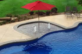 fiberglass pools with tanning ledge. Modren With Grand Isle 42TL Tanning Ledge  For Fiberglass Pools With L