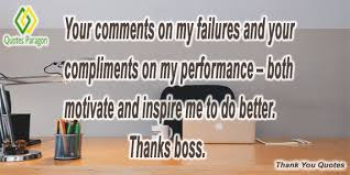 Thank You Quotes For Boss Magnificent Thank You Quotes For Boss Quotes Paragon
