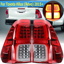 Revo Led Lights 1pair Car Taillight Led With Bulb For Toyota Hilux Revo 2015