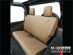 tan car seat covers jeep wrangler unlimited rear seat covers by tan