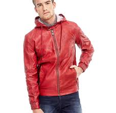 guess jacket leather m62l09 w5cl0