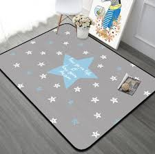 120x180cm ins european star soft kids room play mat modern bedroom area rugs large pink carpets crawling pad for living room residential carpet best carpet