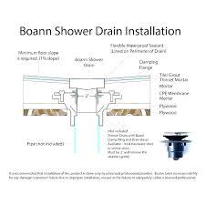 shower pan drain shower pan drain installation installing a shower base on concrete floor installing a shower drain base shower pan drain installation bootz