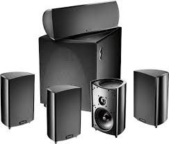 home theater front speakers. definitive technology - procinema 600 5.1-channel home theater speaker system black larger front speakers